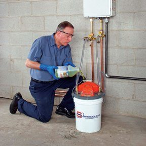 How to descale my tankless water heater