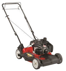 yard machine lawn mower reviews