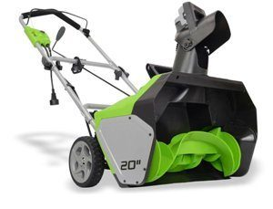 greenworks snow blower reviews
