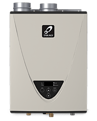 Tankless water heater for radiant floor heat